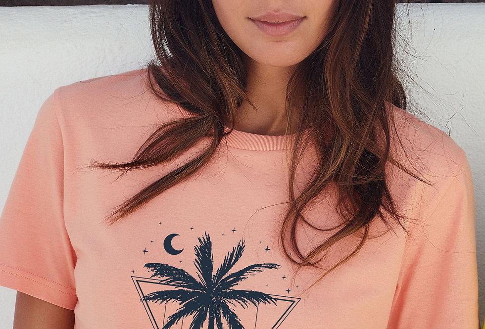 Boyfriend T-Shirt- Tropical Light