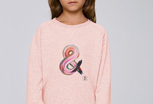 Mädchen Sweatshirt - Undendlichkeit