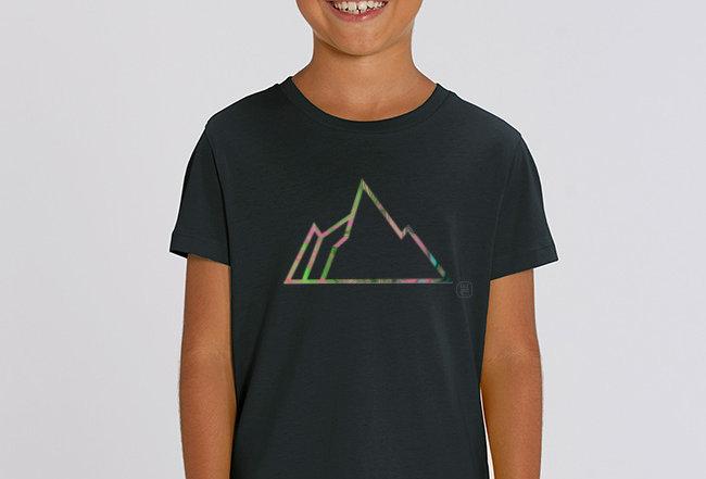 Jungs T-Shirt - NEON MOUNTAIN