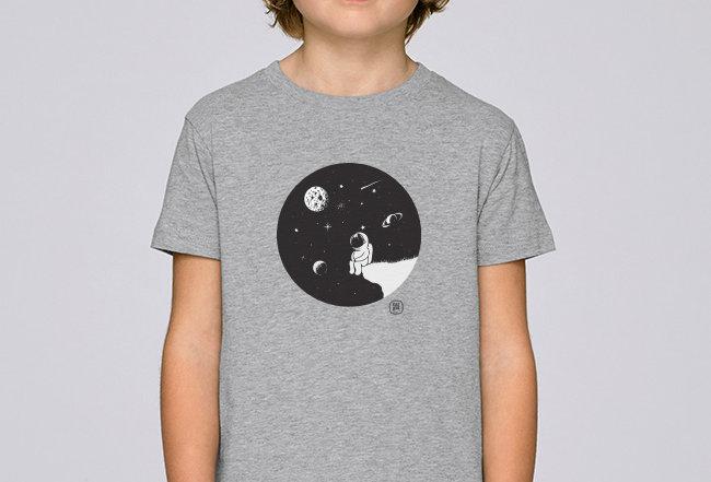 Jungs T-Shirt- Moon