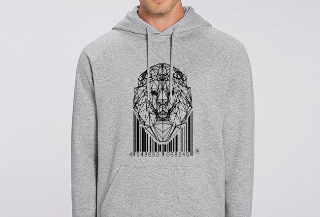 Basic Hoodie - Lion Code