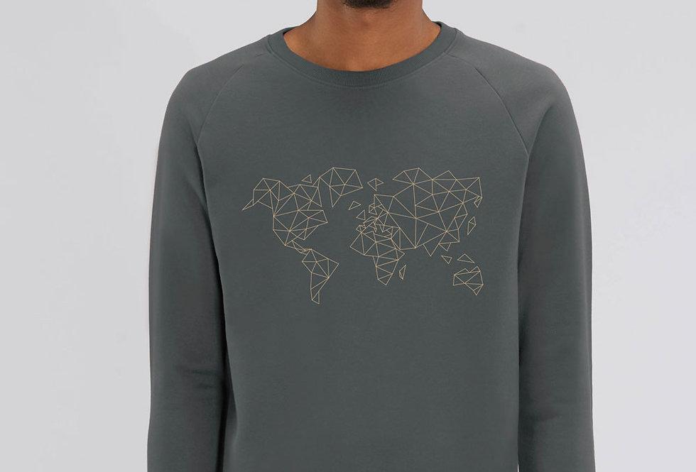 Basic Sweatshirt - Worldmap