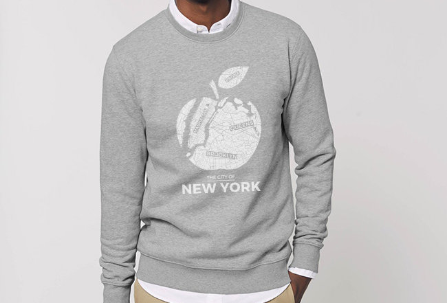 Basic Sweatshirt - Big Apple