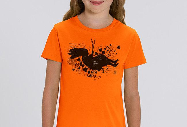 Händler Mädchen T-Shirt- Schaukel