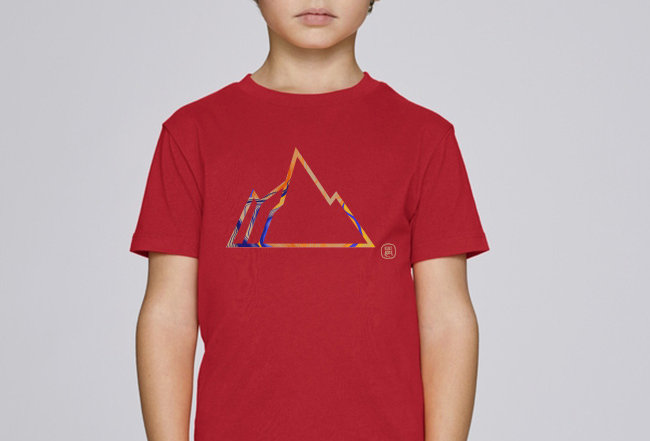 Jungs T-Shirt - COLORFUL MOUNTAIN