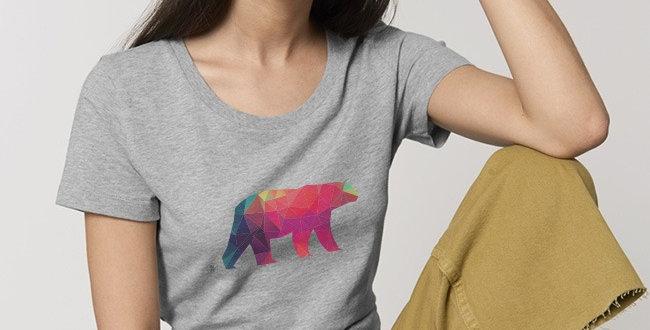 Basic T-Shirt- Polarbär