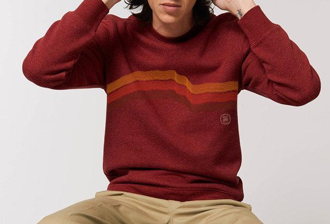 Sweatshirt - Innen flauschig - Earth & Fire