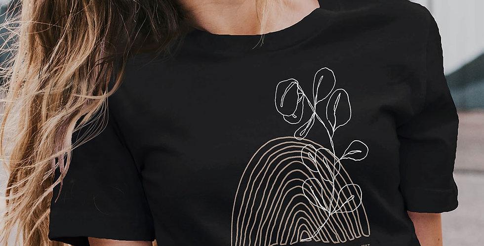 Klassisches T-Shirt aus reiner Biobaumwolle / Inner Growth