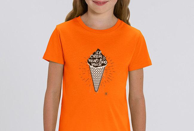 Mädchen T-Shirt- Icecream