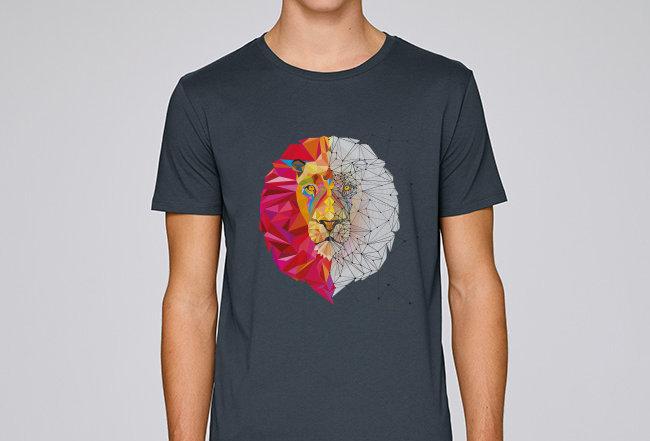 Basic T-Shirt - Löwe