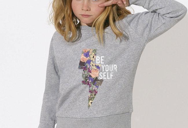 Mädchen Sweatshirt - BeYourSelf