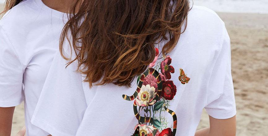Flauschig Chiller T-Shirt Oversize / Garden Eden