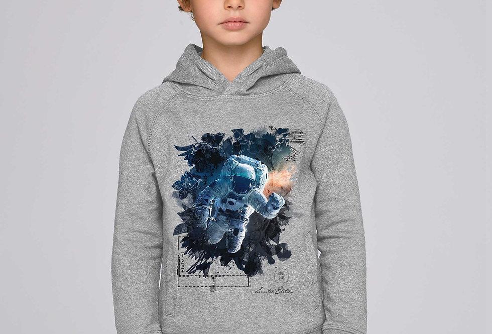 Jungen Hoodie - Galaxy