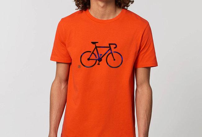 Basic T-Shirt- Black Bike