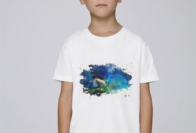 Jungs T-Shirt - Königspinguin