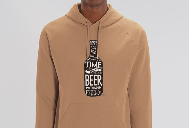 Basic Hoodie - Time for a Beer