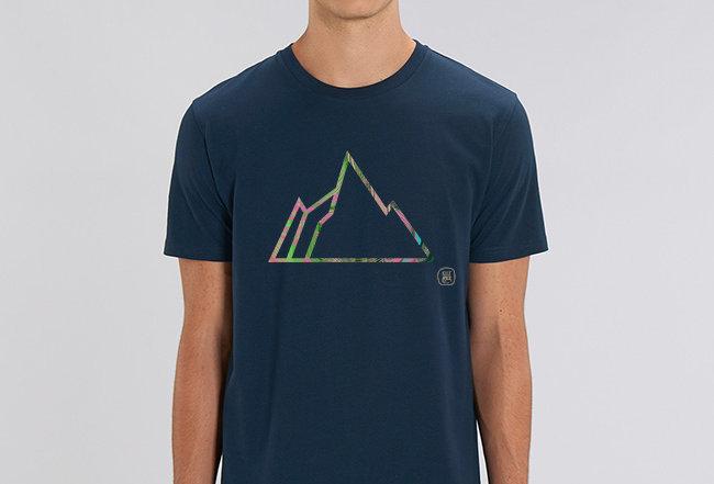 Basic T-Shirt - NEON MOUNTAIN