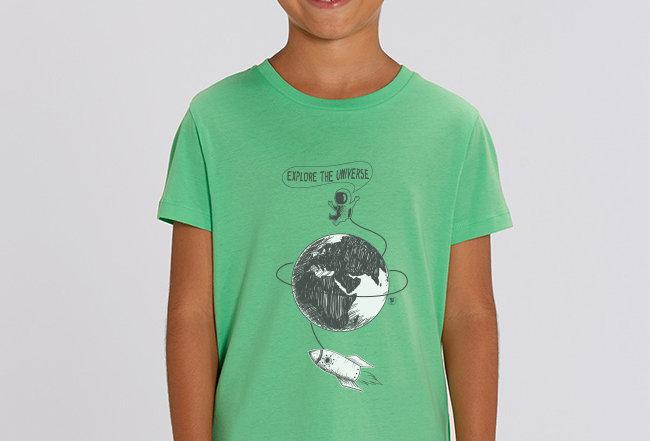 Jungen T-Shirt - Explore the Universe