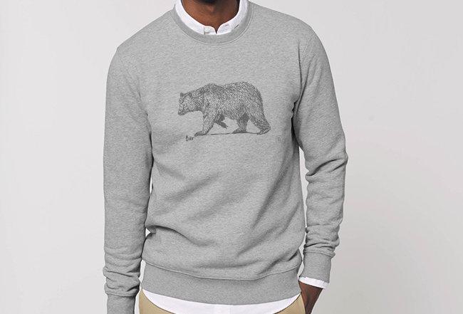 Basic Sweatshirt - Bär