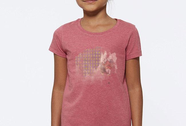 Mädchen T-Shirt- Rabbit Wunderland