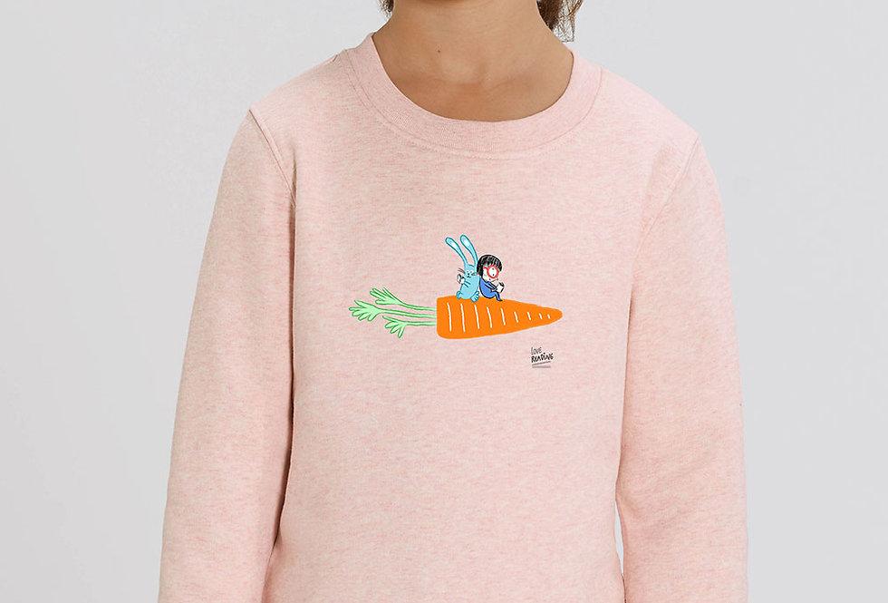 Unisex Sweatshirt -Loving Reading