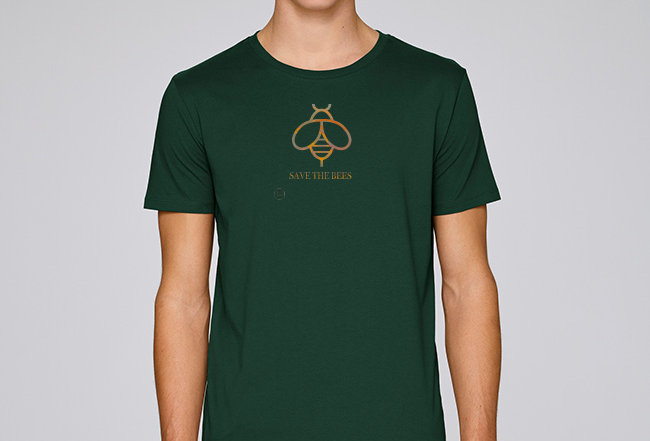 Basic T-Shirt- Save the Bees