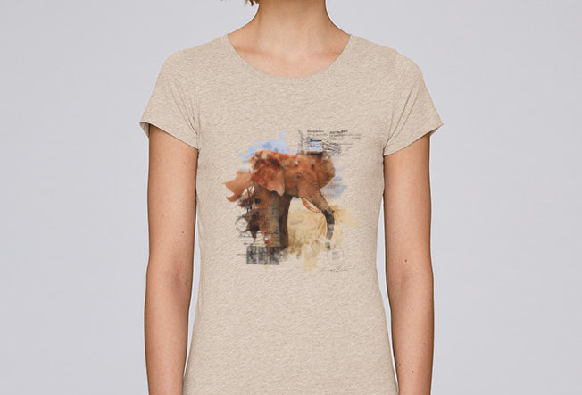 Basic T-Shirt - Lucky Elephant