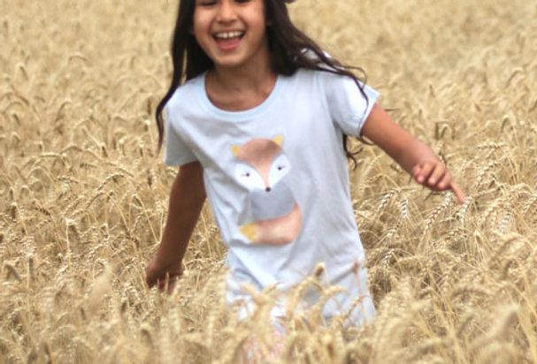 Mädchen T-Shirt- Volpe