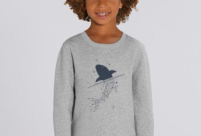 Jungs Sweatshirt - Shark
