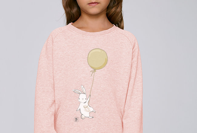 Mädchen Sweatshirt - Happy Rabbit