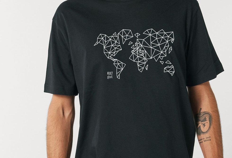 RELAXED T-SHIRT- Worldmap
