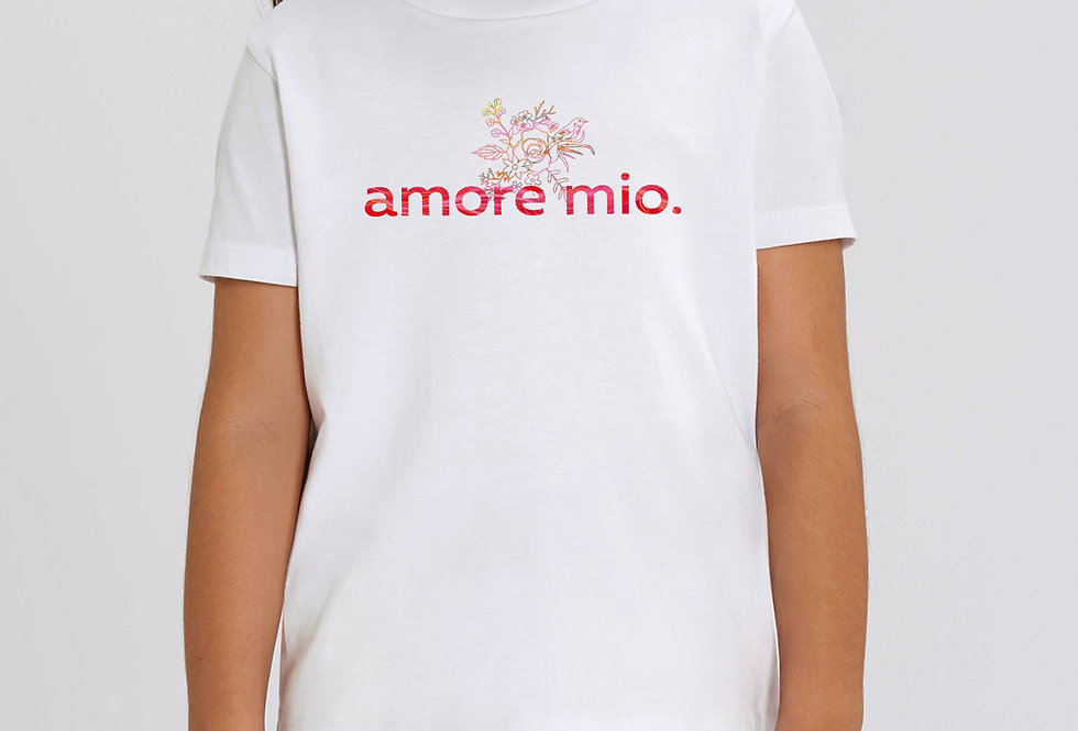 Kinder T-Shirt amore mio