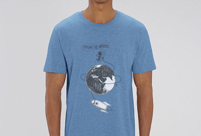 Basic T-Shirt - Explore the Universe