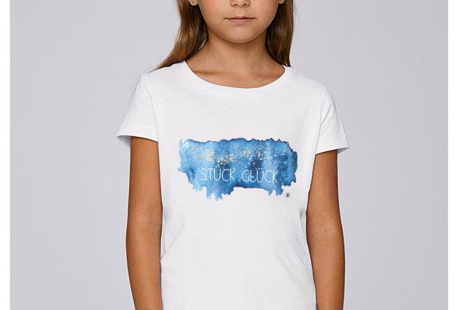 Mädchen T-Shirt - Stück Glück