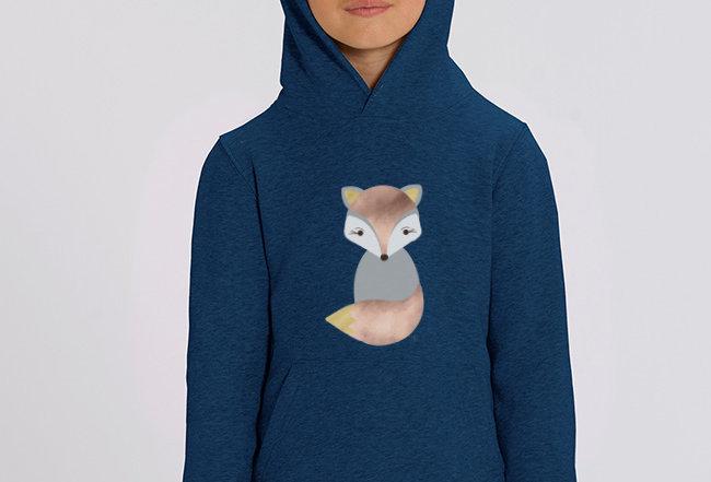 Mädchen Hoodie - Fox