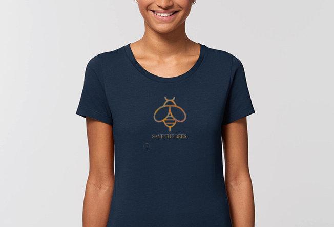 Basic T-Shirt - Reine Biobaumwolle - Save the Bees