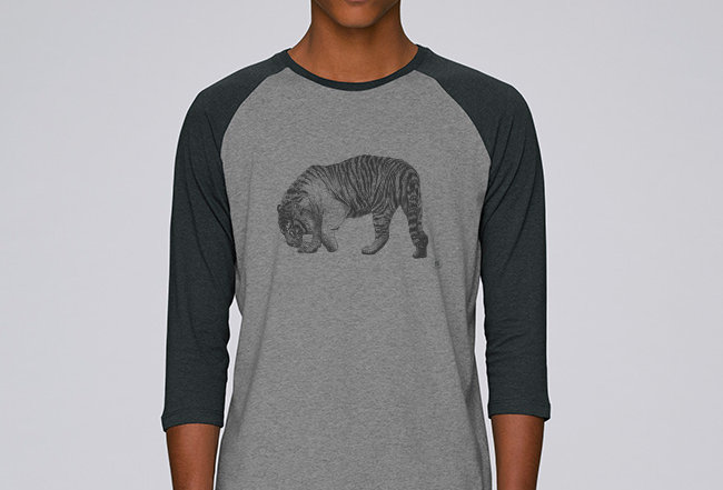 Baseball Shirt- Tiger