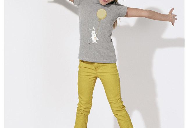 Mädchen T-Shirt- Happy Rabbit