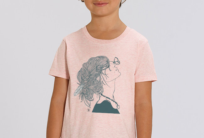 Mädchen T-Shirt- Feeling Summer