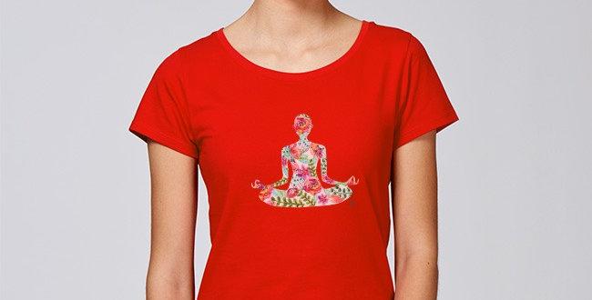 Basic T-Shirt- Yoga