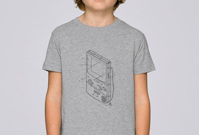 Jungen T-Shirt - Retro-GameBoy