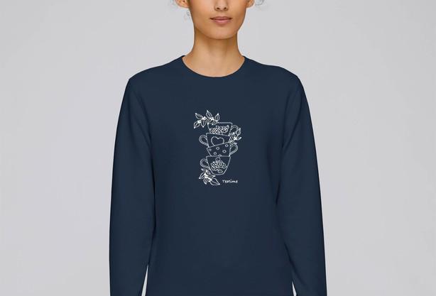 Klassisches Sweater -  Teatime