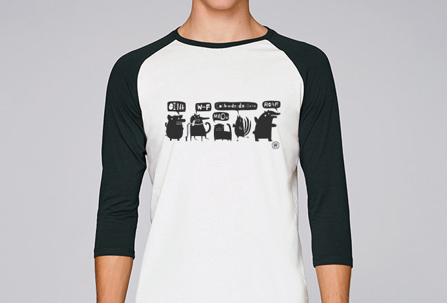Baseball Shirt- Animal