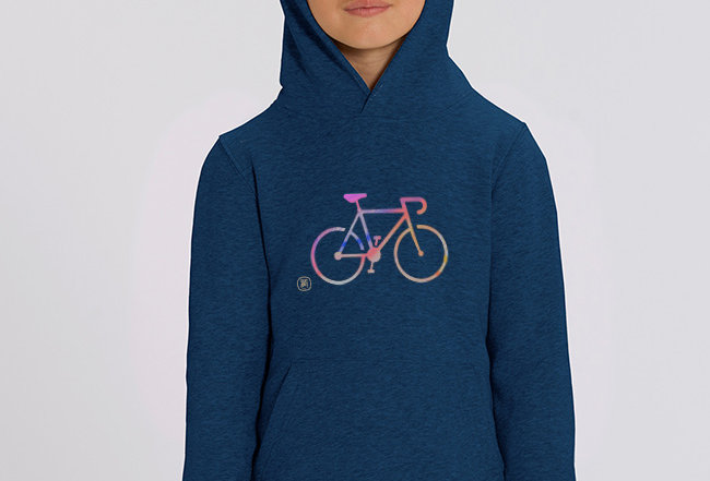 Mädchen Hoodie- COLORFUL BIKE