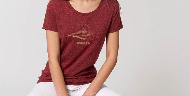 Basic T-Shirt - Mountains