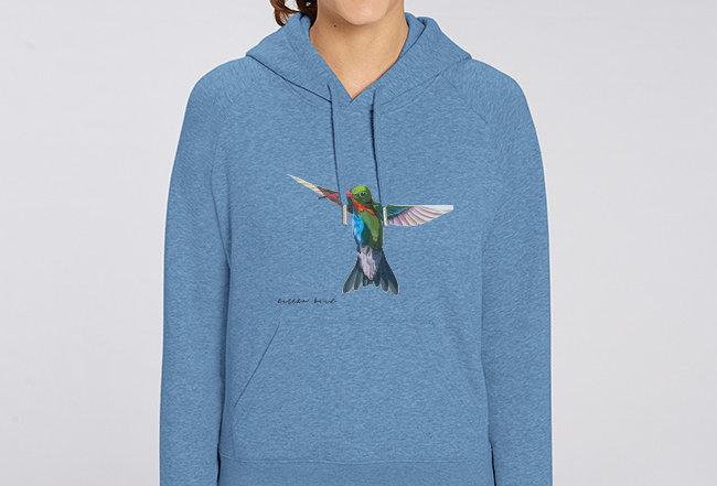 Damen Basic Hoodie - Little Bird