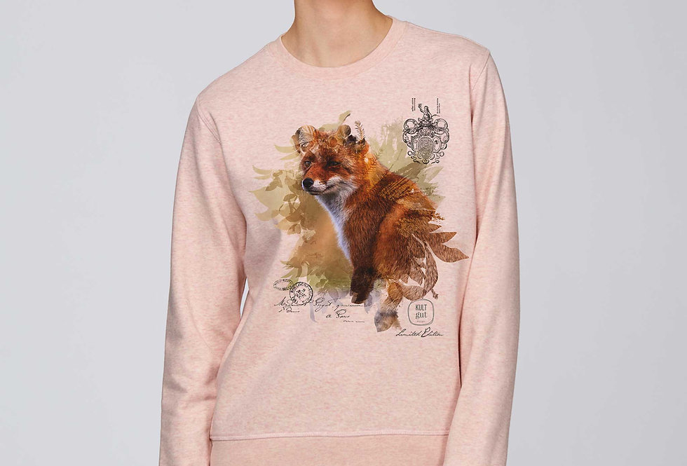 Sweatshirt-Happy Fox