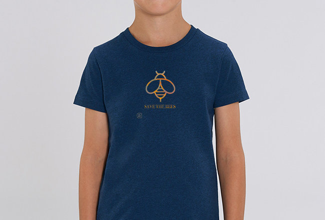 Jungs T-Shirt- Save the Bees