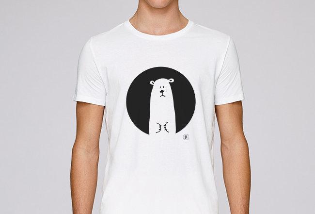 Händler Basic T-Shirt - Eisbär