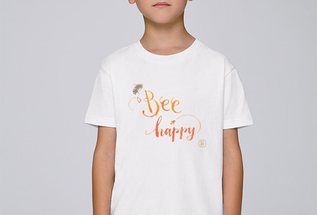 Jungs T-Shirt- Bee Happy